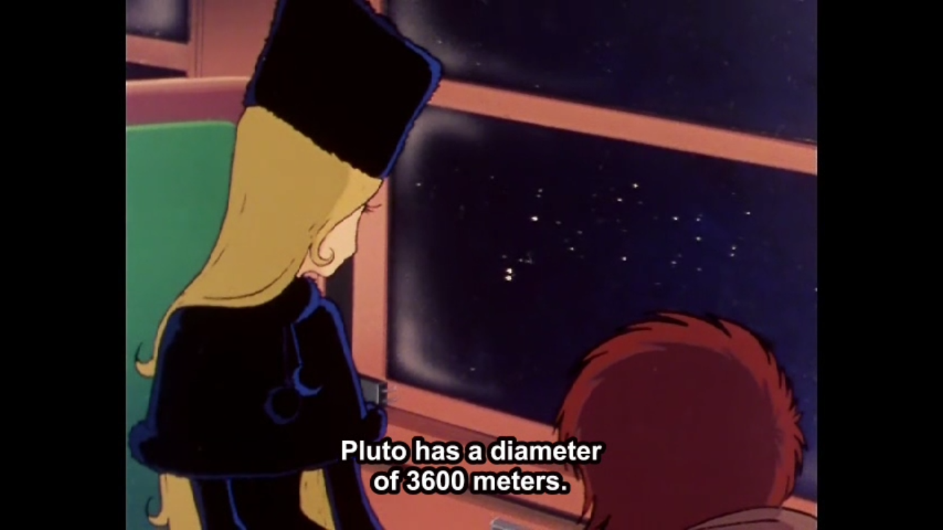 Featured image for Galaxy Express 999 Episode 5: Melancholy on Pluto
