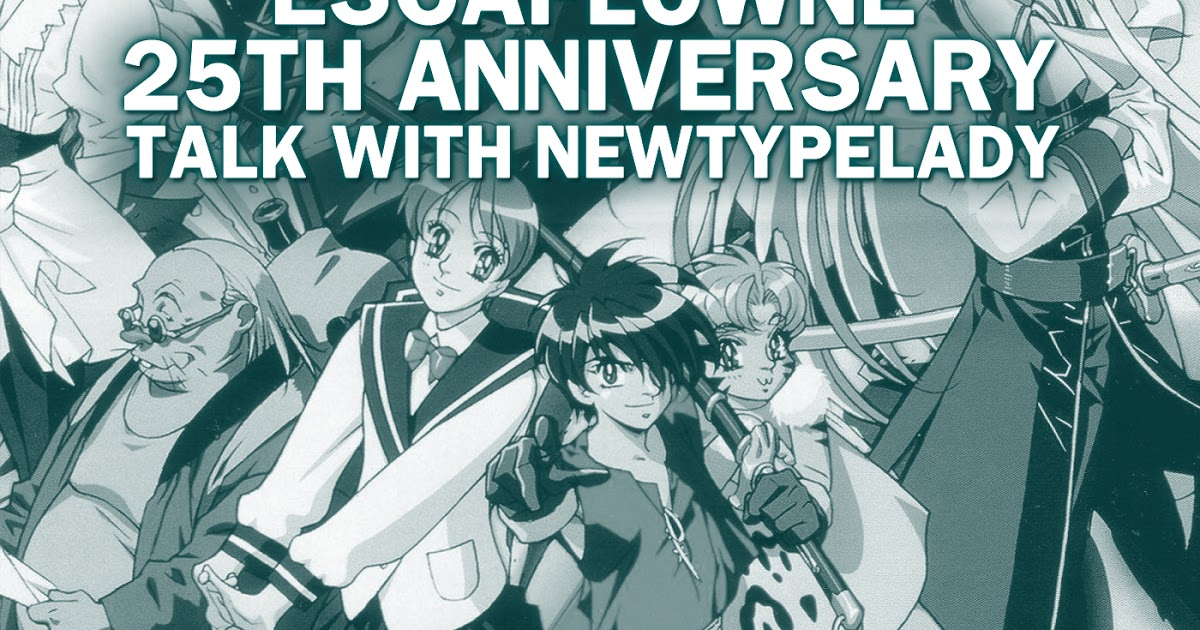 Featured image for The Anime Nostalgia Podcast - ep 98: The Vision of Escaflowne 25th Anniversary Talk with NewTypeLady