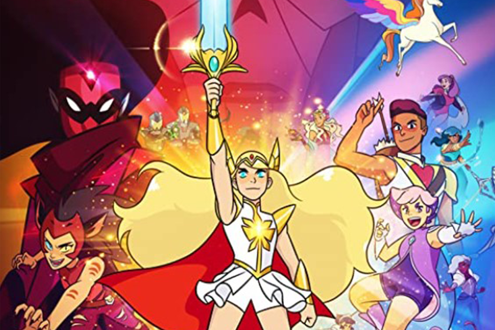 Featured image for She-Ra and the Princesses of Power: An American Magical Girl Series (with a lot of shipping)