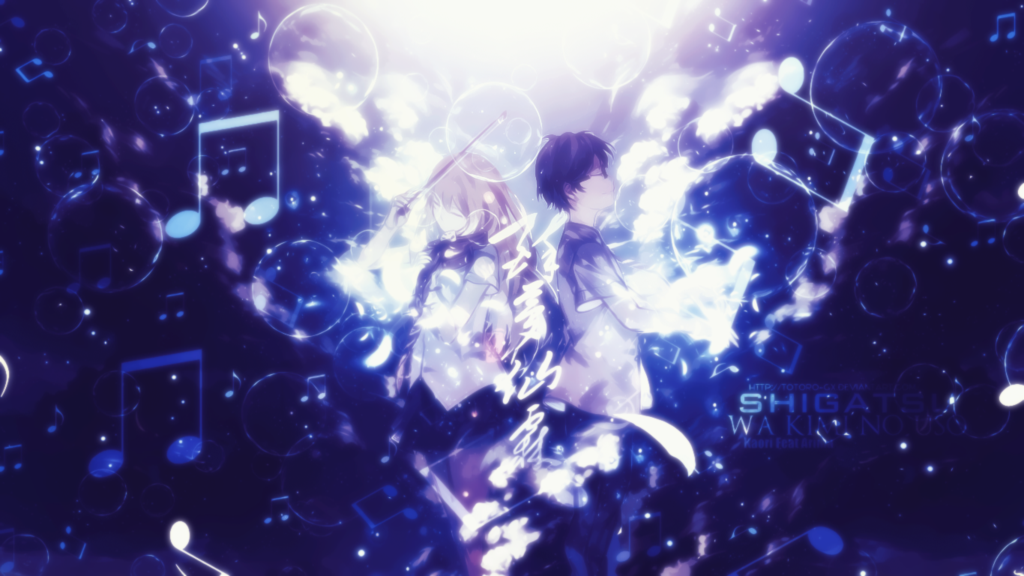 Featured image for [Anime Review]: Shigatsu wa Kimi no Uso (Your Lie in April)
