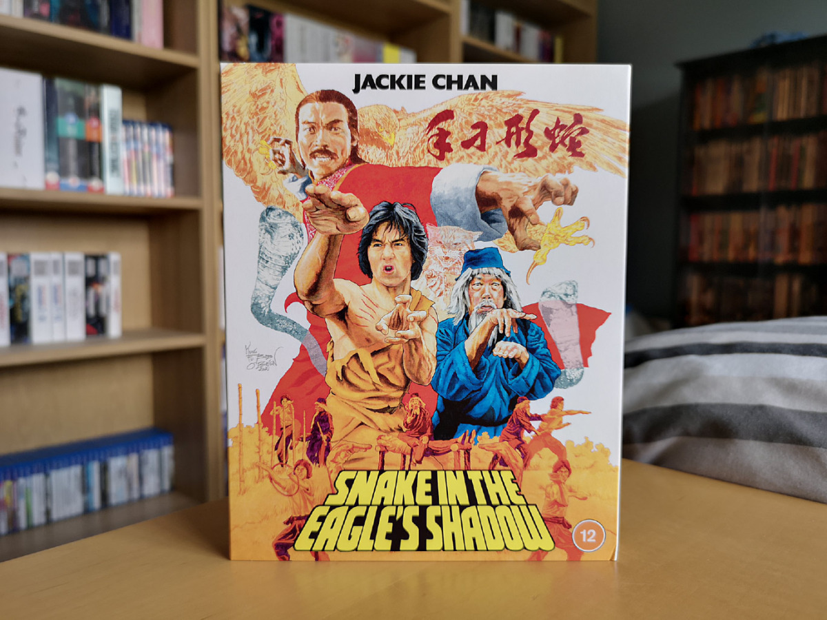 Featured image for Snake in the Eagle's Shadow (First Print Edition Blu-ray) Unboxing