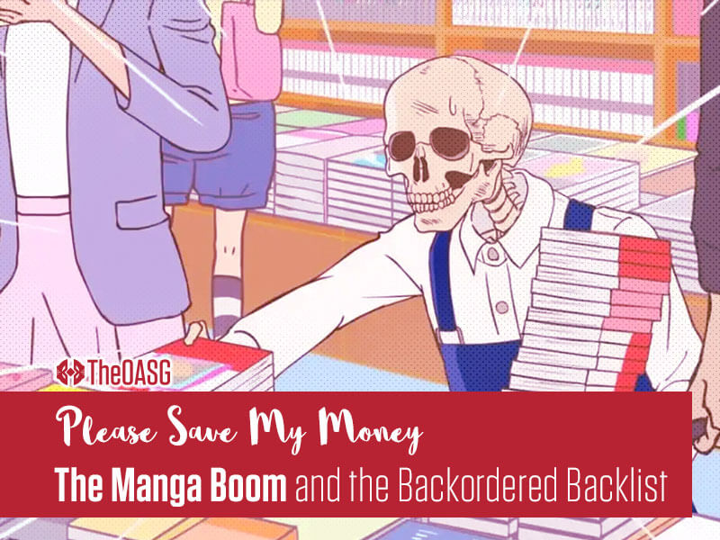 Featured image for The Manga Boom and the Backordered Backlist