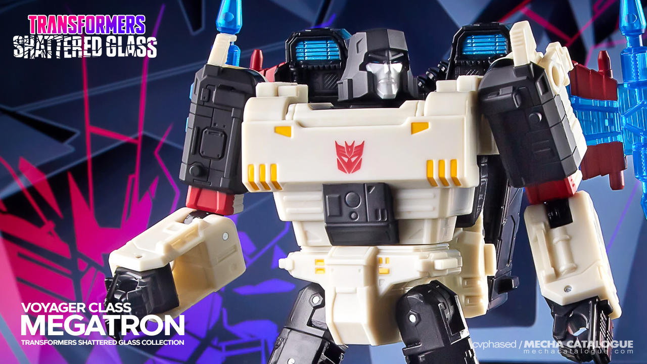 Featured image for They're Shattering Glasses Again: Transformers Shattered Glass Collection Megatron