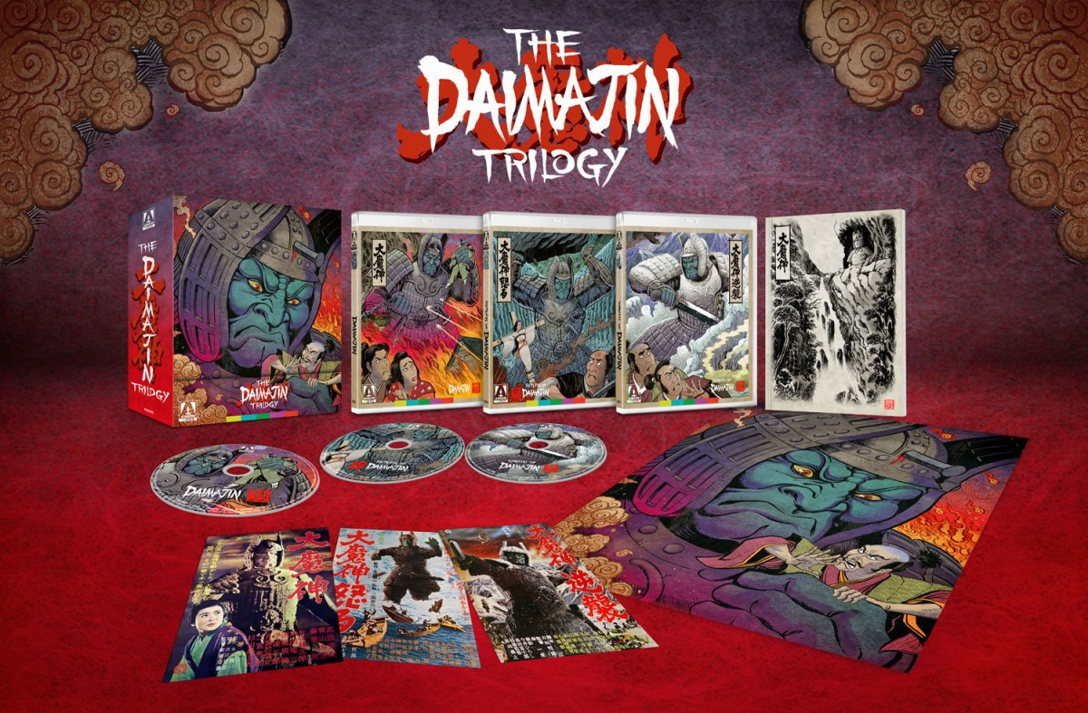 """Featured image for """"Daimajin Trilogy"""" Set Announced by Arrow Video!"""