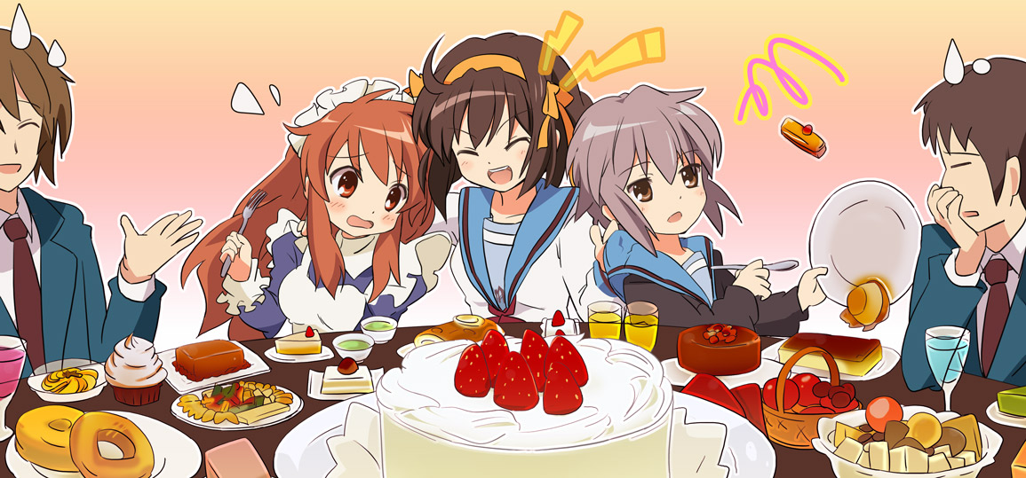 Featured image for Revisiting The Melancholy of Haruhi Suzumiya
