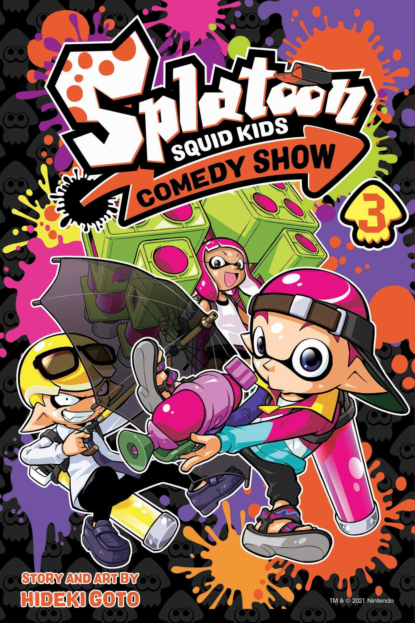 Featured image for Thoughts on Splatoon: Squid Kids Comedy Show Volume 3