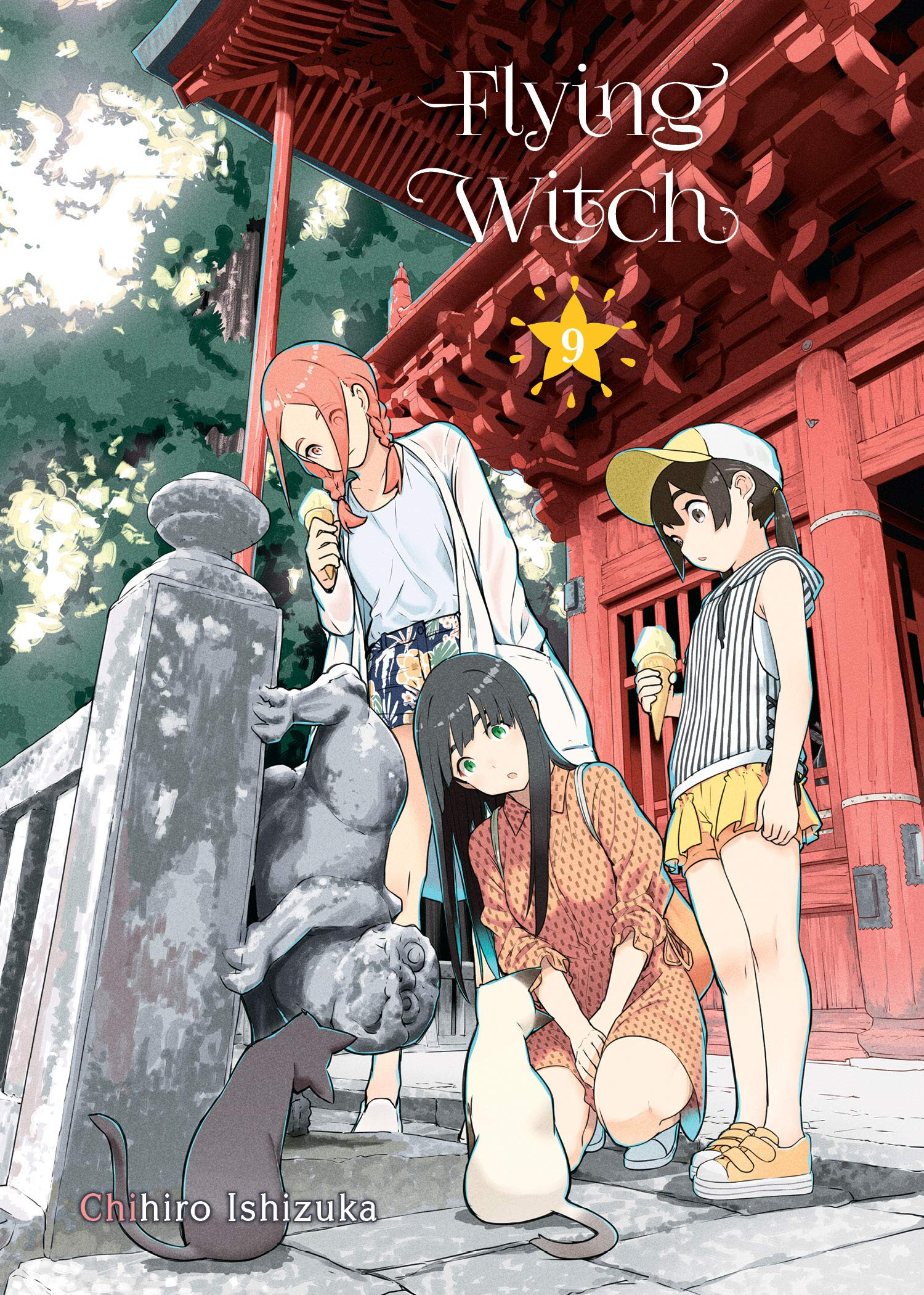 Featured image for Flying Witch Volume 9 Review