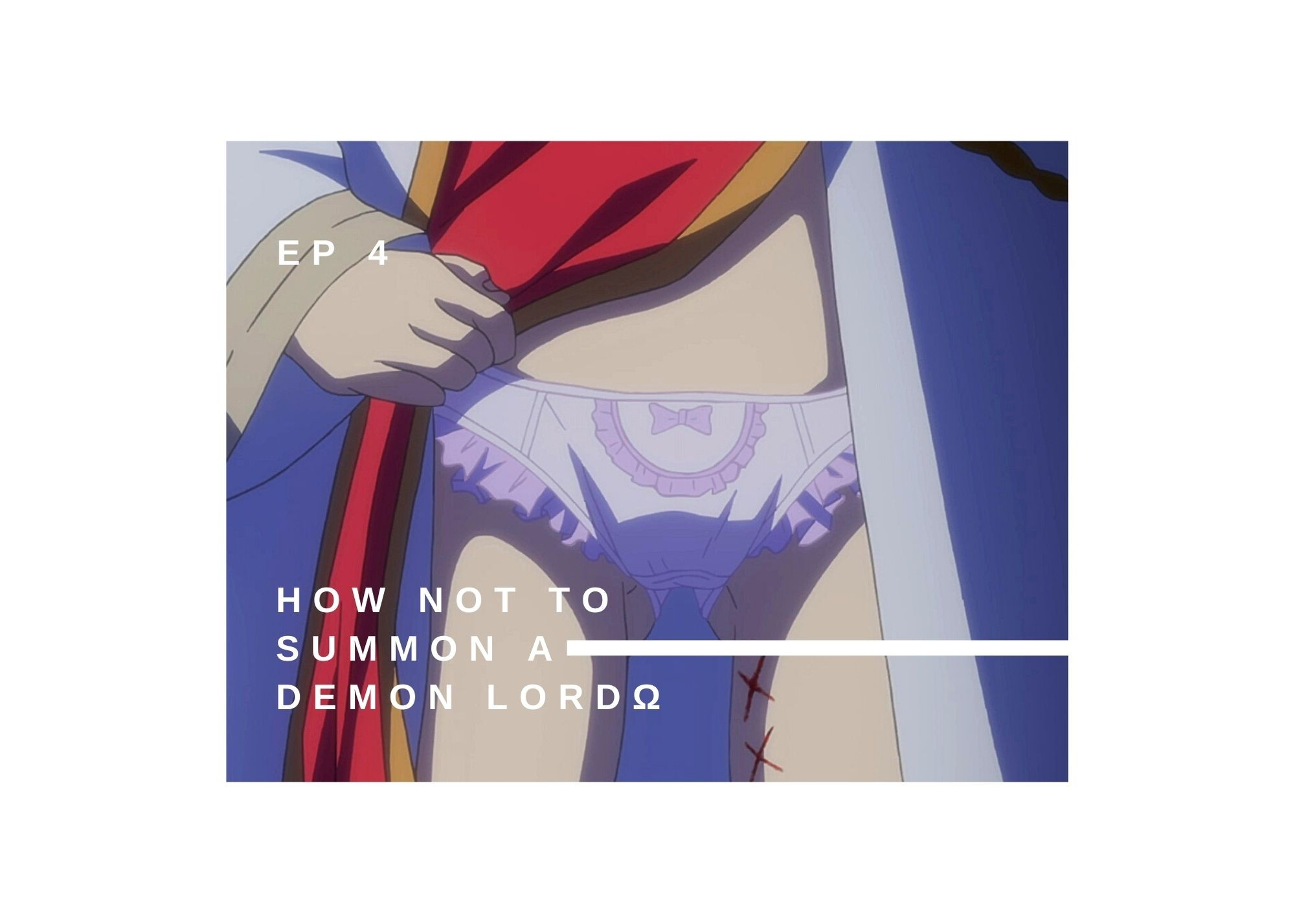 Featured image for How Not to Summon a Demon Lord Ω Ep 4 — 100 Word Anime