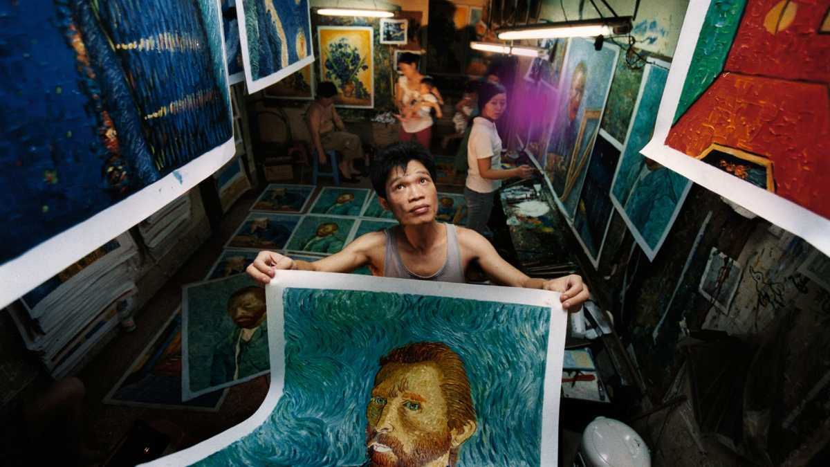 Featured image for China's Van Goghs (中国梵高, Yu Haibo & Kiki Yu Tianqi, 2016)
