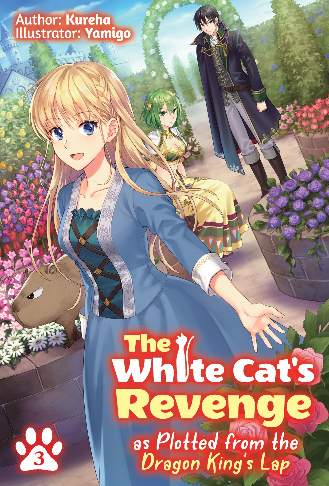 Background image for The White Cat's Revenge As Plotted from the Dragon King's Lap Volume 3 Review