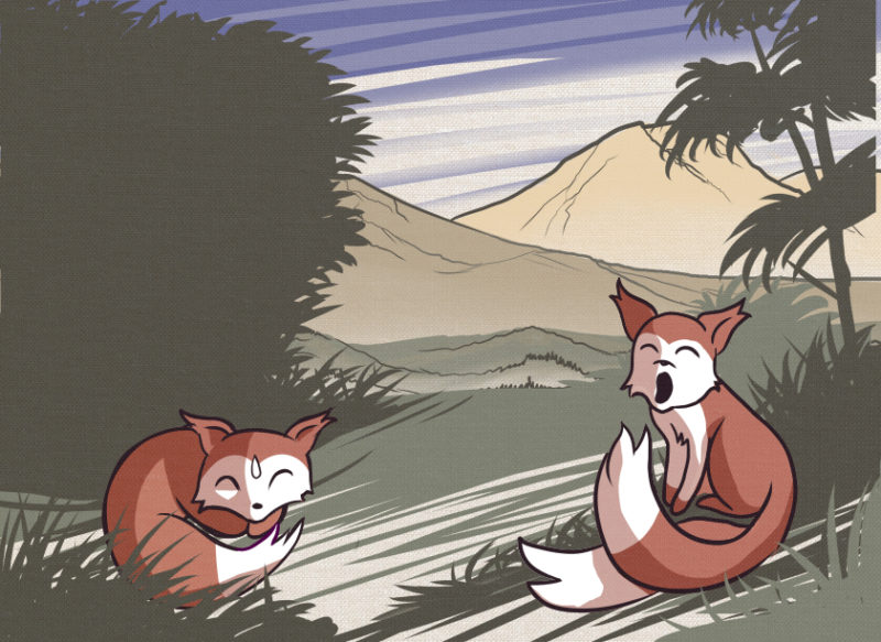 Featured image for The Fox Brothers and Old Tanuki's Trick Chapter 2