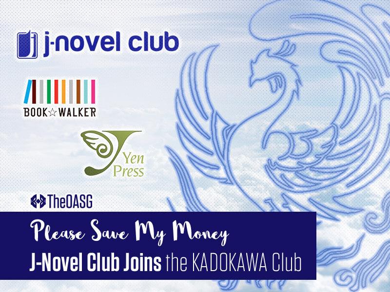 Featured image for J-Novel Club Joins the KADOKAWA Club