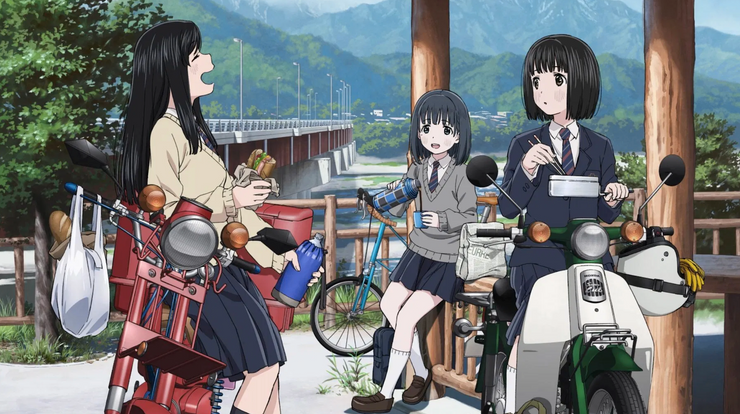 Featured image for FIRST LOOK: Super Cub – The slowest anime may hide something subtle and deep