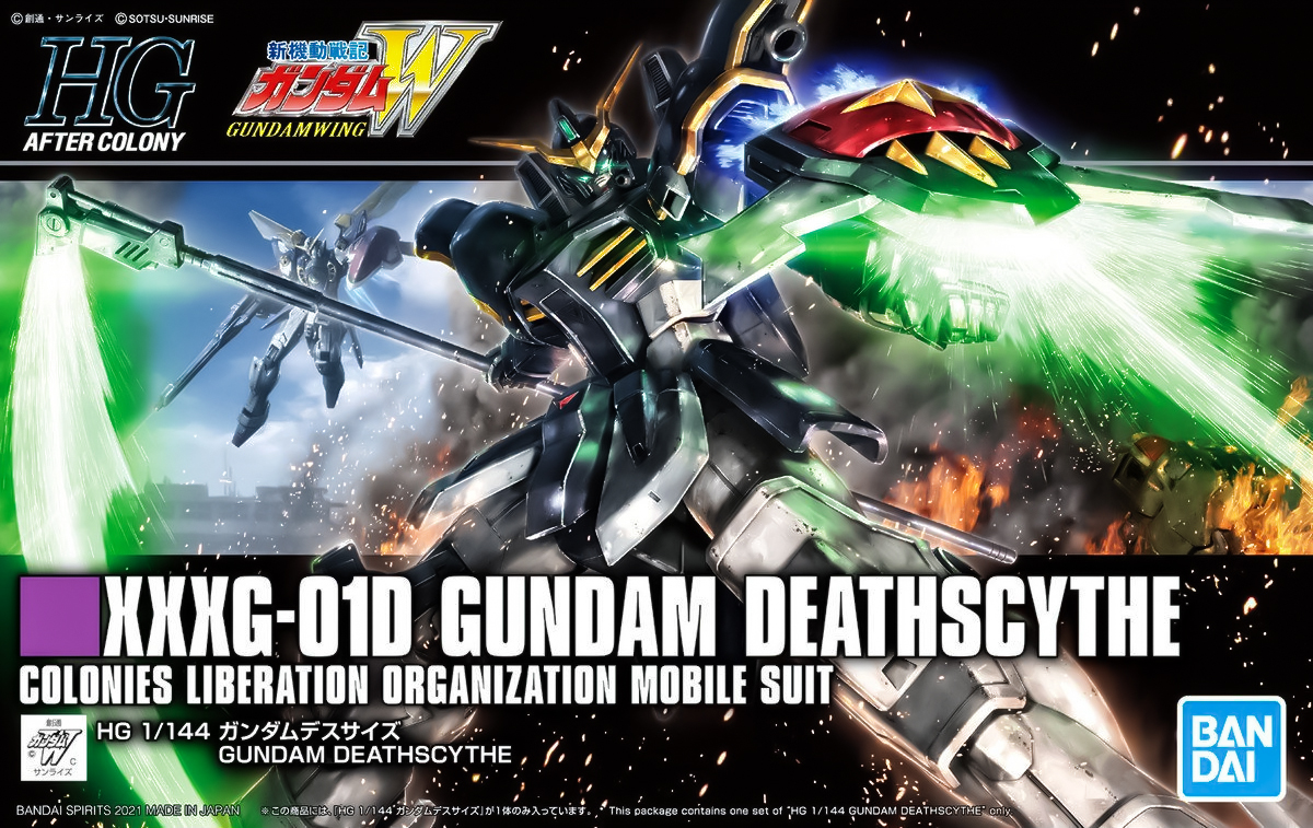 Featured image for Straight Build Preview: HGAC Gundam Deathscythe