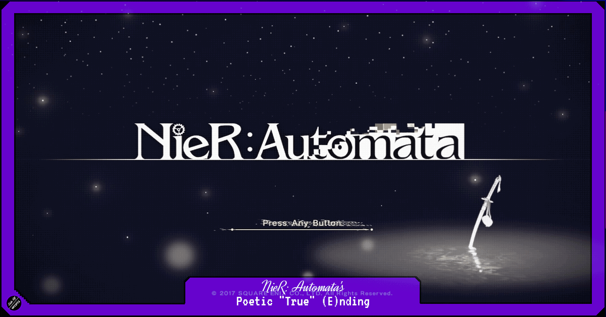 """Featured image for NieR: Automata's Poetic """"True"""" (E)nding"""