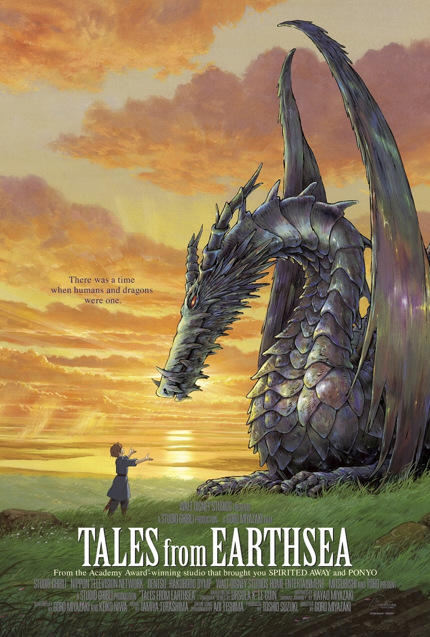 Featured image for Tales from Earthsea: Should've Read the Book