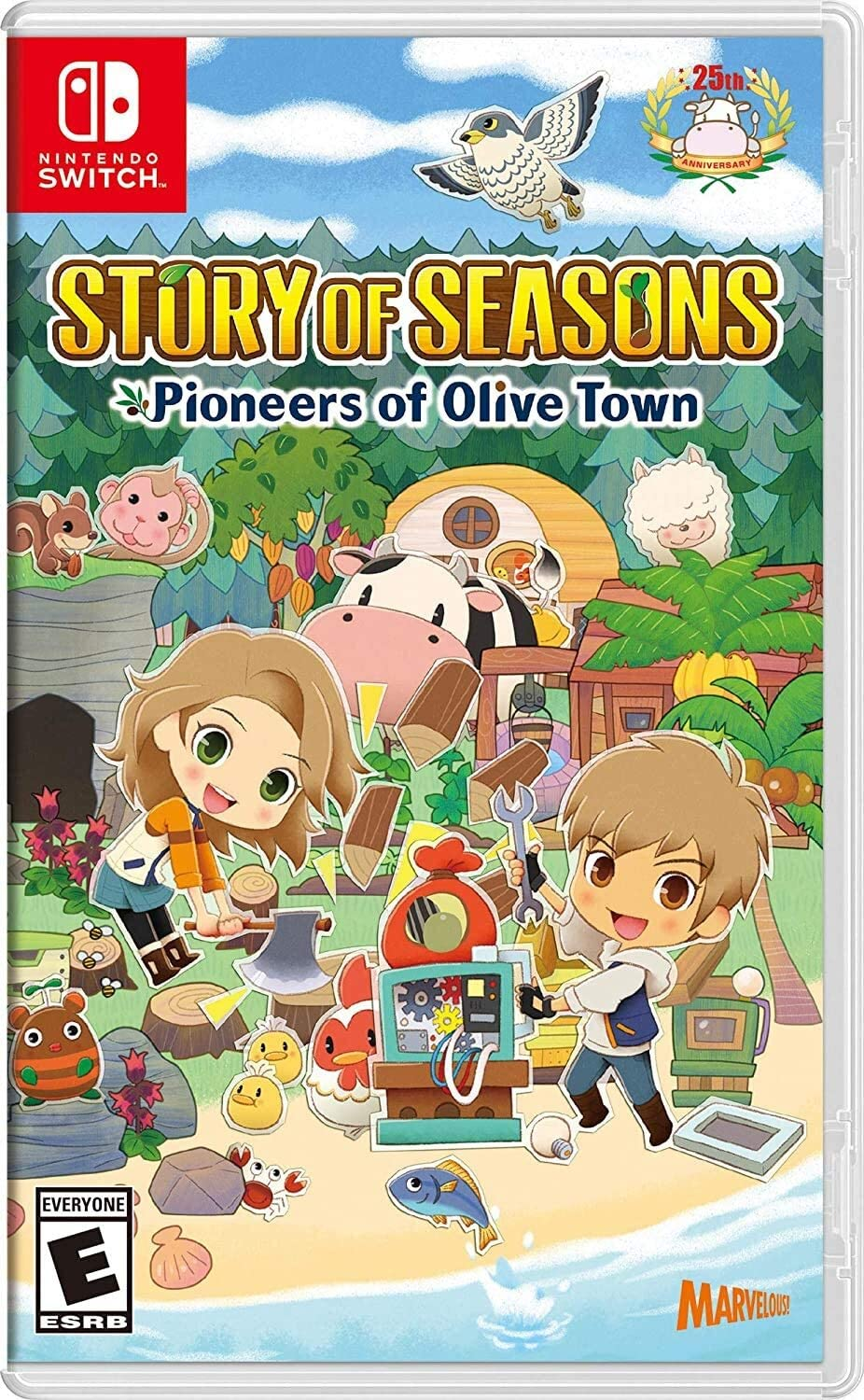 Featured image for Story of Seasons: Pioneers of Olive Town Review