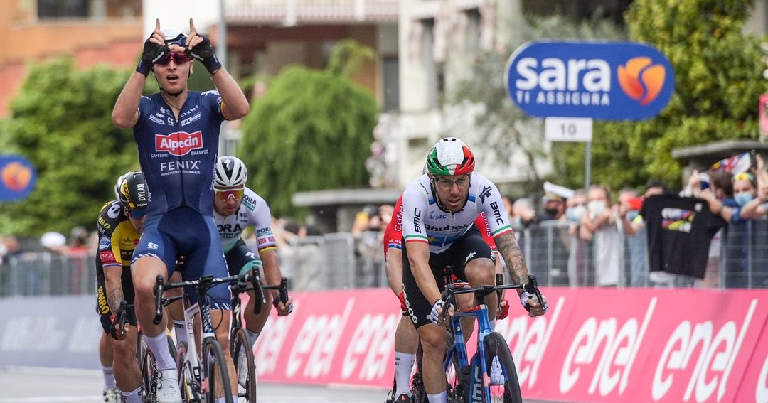 Featured image for Giro Jot del Giorno - Stage 2 - 5/9/2021
