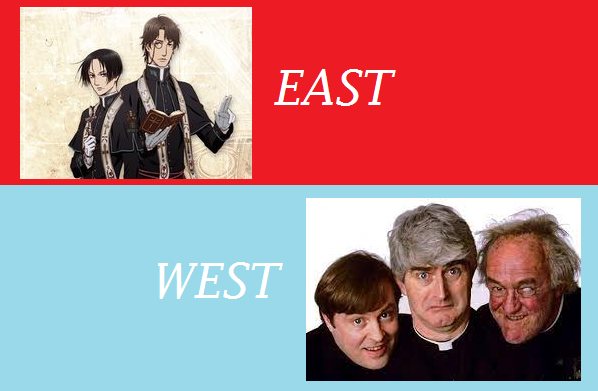 Featured image for East Meets West #5: Vatican Kiseki Chousakan .vs. Father Ted