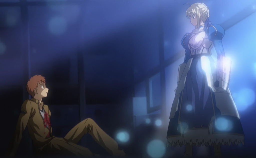Featured image for ANIME REVIEW: Fate/stay night (2006)