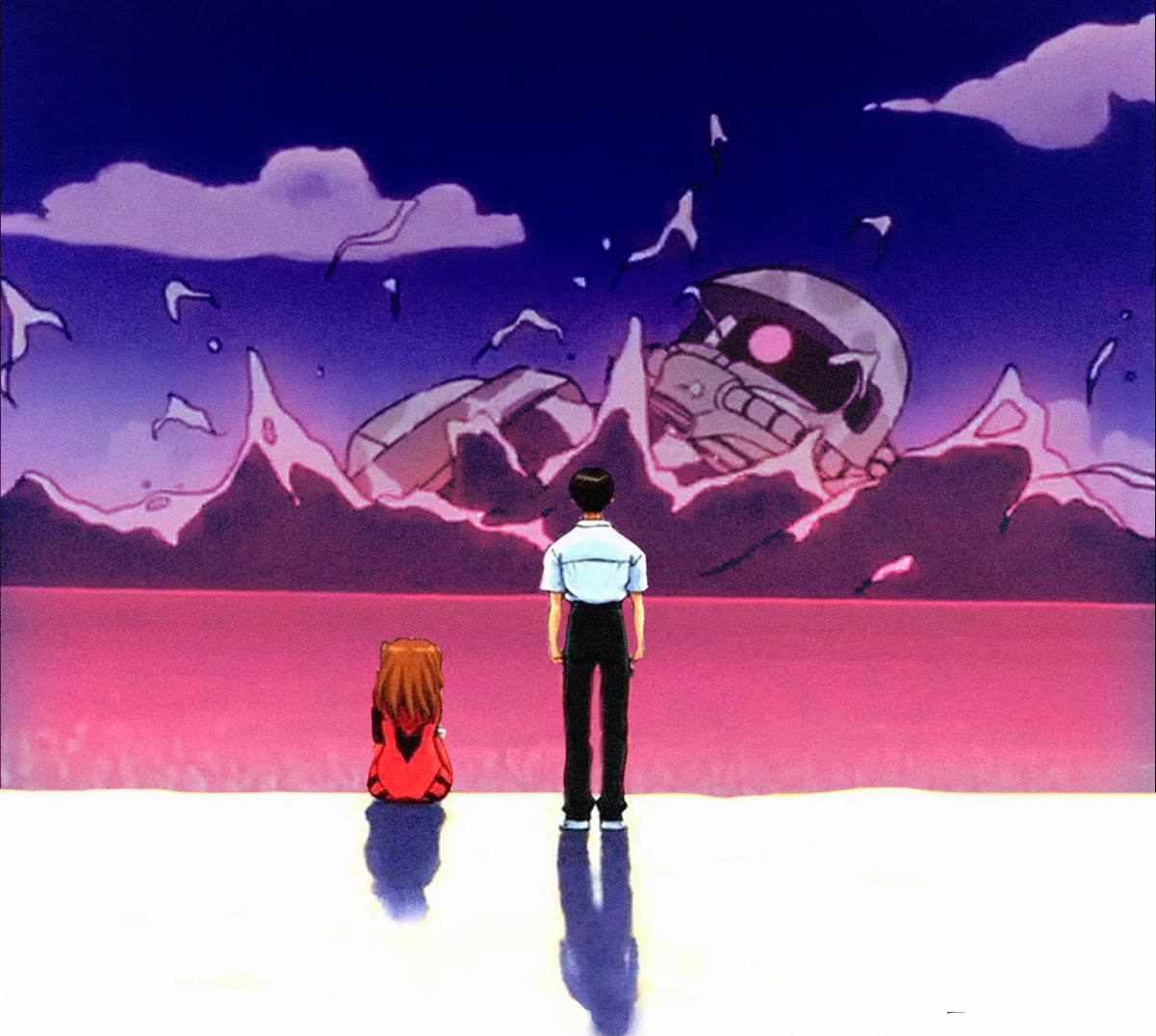 Featured image for Evangelion Review – The Beast of Possibility? More Like the Beast of Accepting Other People.