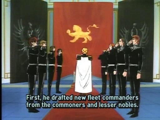 Featured image for Legend of the Galactic Heroes Epsiode 5: The Kastrop Rebellion