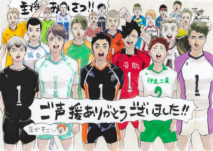 Featured image for Comparing Haikyu!! Captains vs My Height