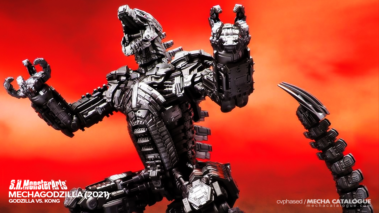 Featured image for An Accidental Reveal? S.H.MonsterArts Mechagodzilla (2021)