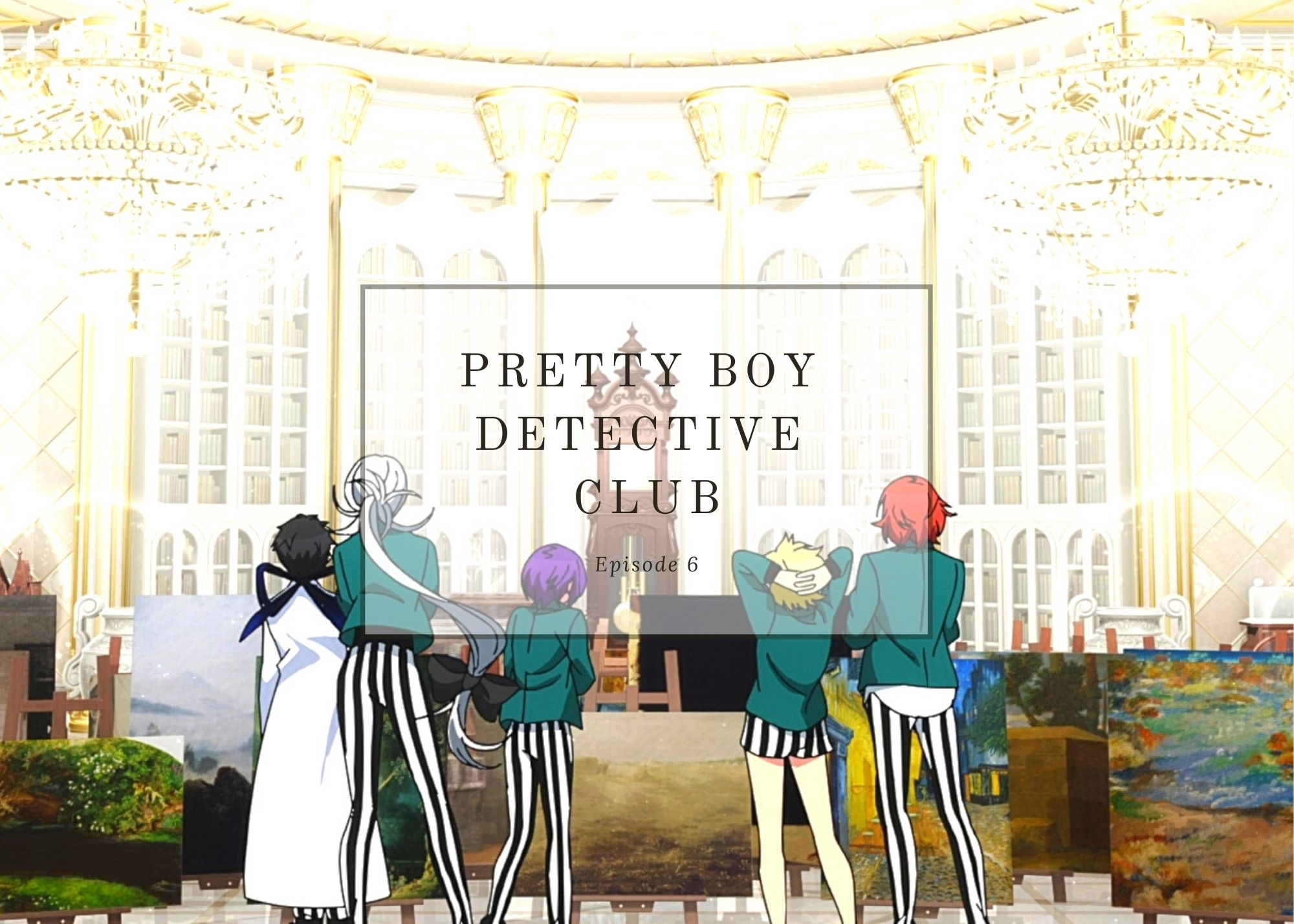 Featured image for Pretty Boy Detective Club ep6 – Masterpiece