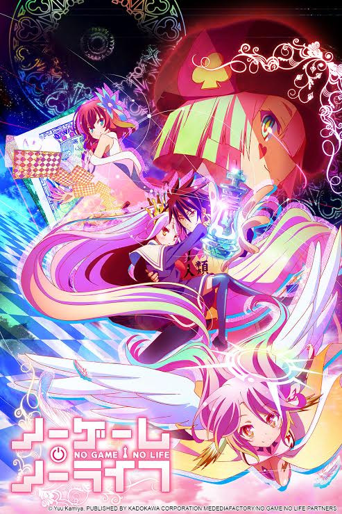 Featured image for No Game No Life – Series Review