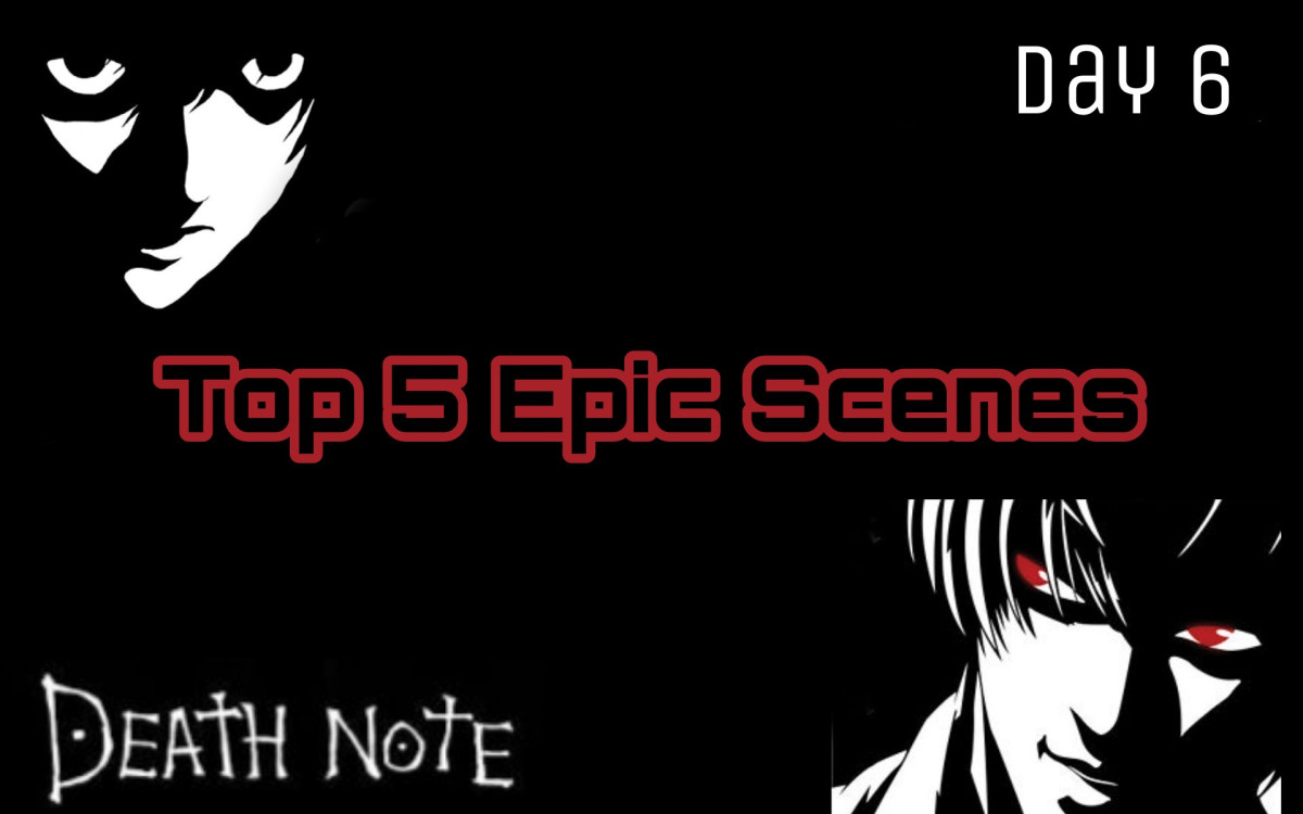 Featured image for The 15 Days of Death Death Note Challenge: Day 6