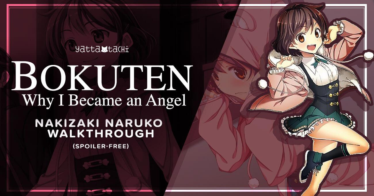 Featured image for Bokuten – Why I Became an Angel – Naruko Nakizaki Walkthrough