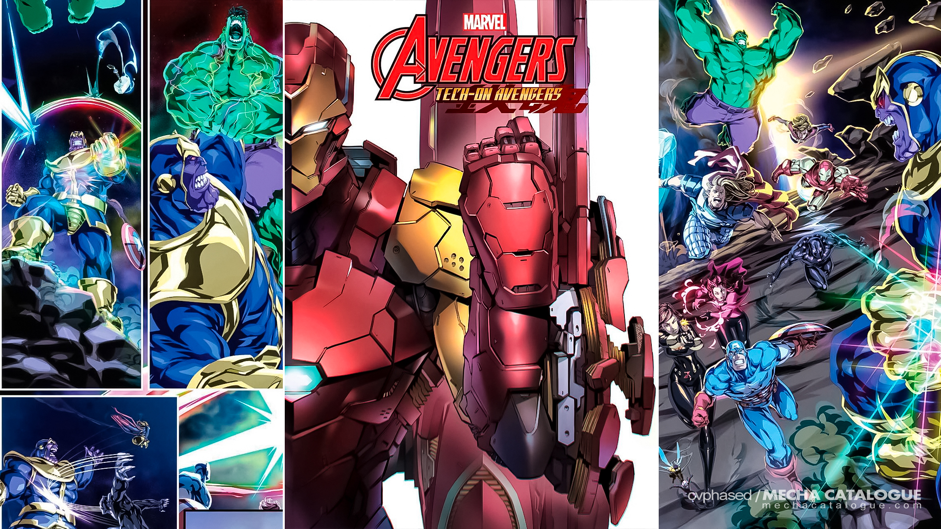 """Featured image for Marvel Comics & Bandai Spirits Collaboration: """"Tech-On Avengers"""""""