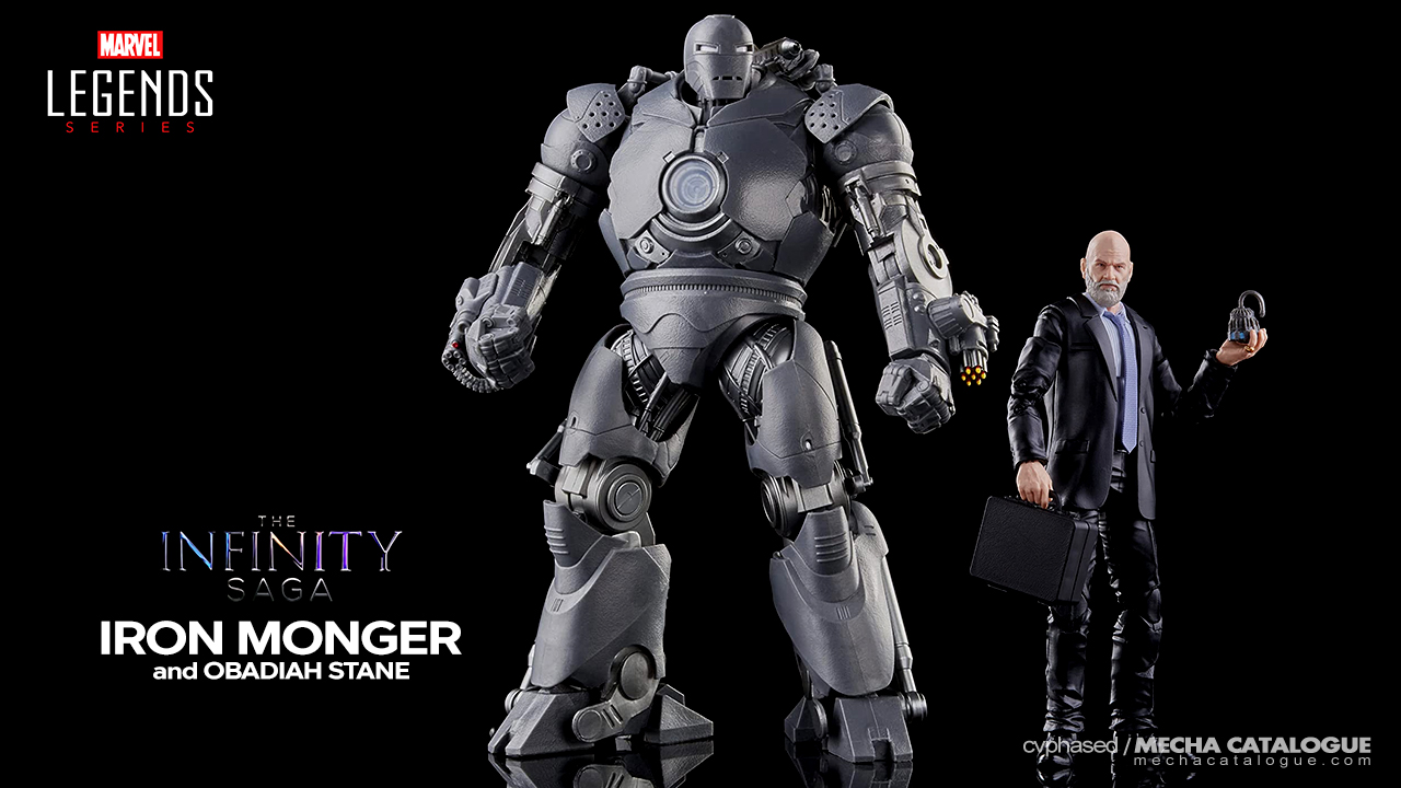 """Featured image for Much Needed Upgrade: Marvel Legends """"The Infinity Saga"""" Iron Monger & Obadiah Stane"""