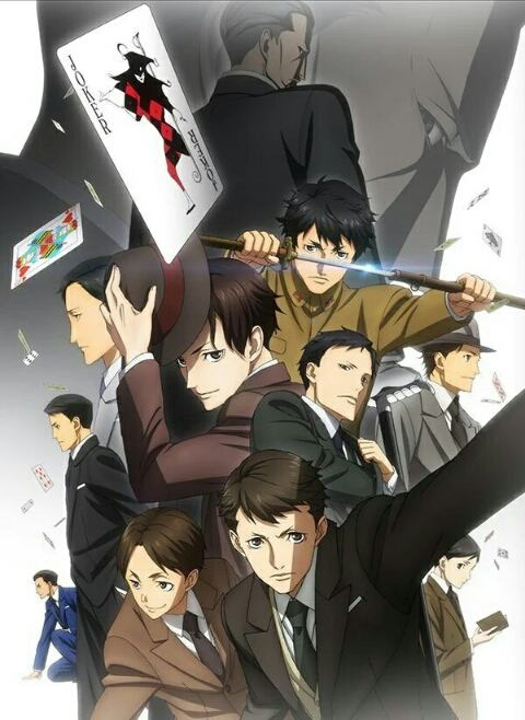 Featured image for Anime Review: Joker Game