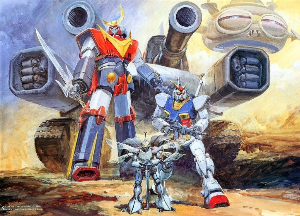 Featured image for Jacques Derrida and the Deconstruction of the Super Robot genre