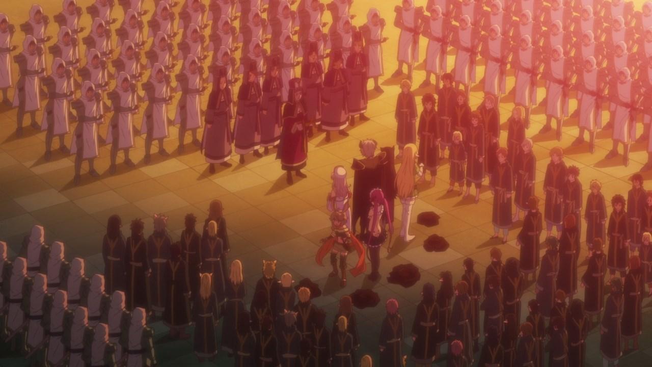 Featured image for Isekai Maou to Shoukan Shoujo no Dorei Majutsu Ω Episode #08