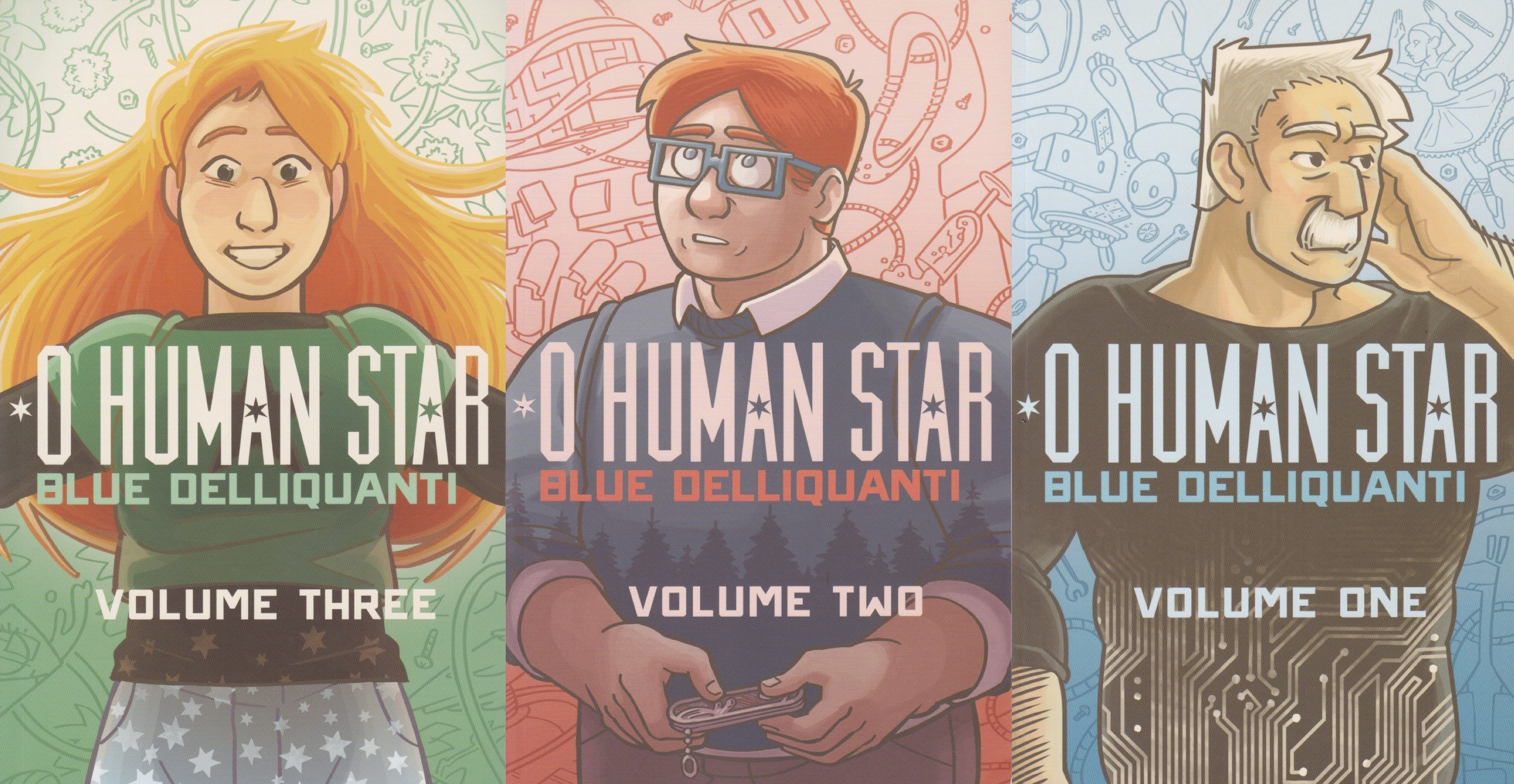 Featured image for O Human Star: Blue Delliquanti