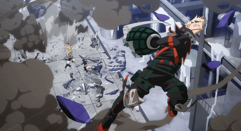 Featured image for My Hero Academia Season 5, Episode 9: Bakugo goes beast mode