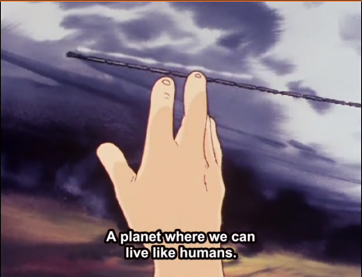 Featured image for Dying free or living a slave in Galaxy Express 999