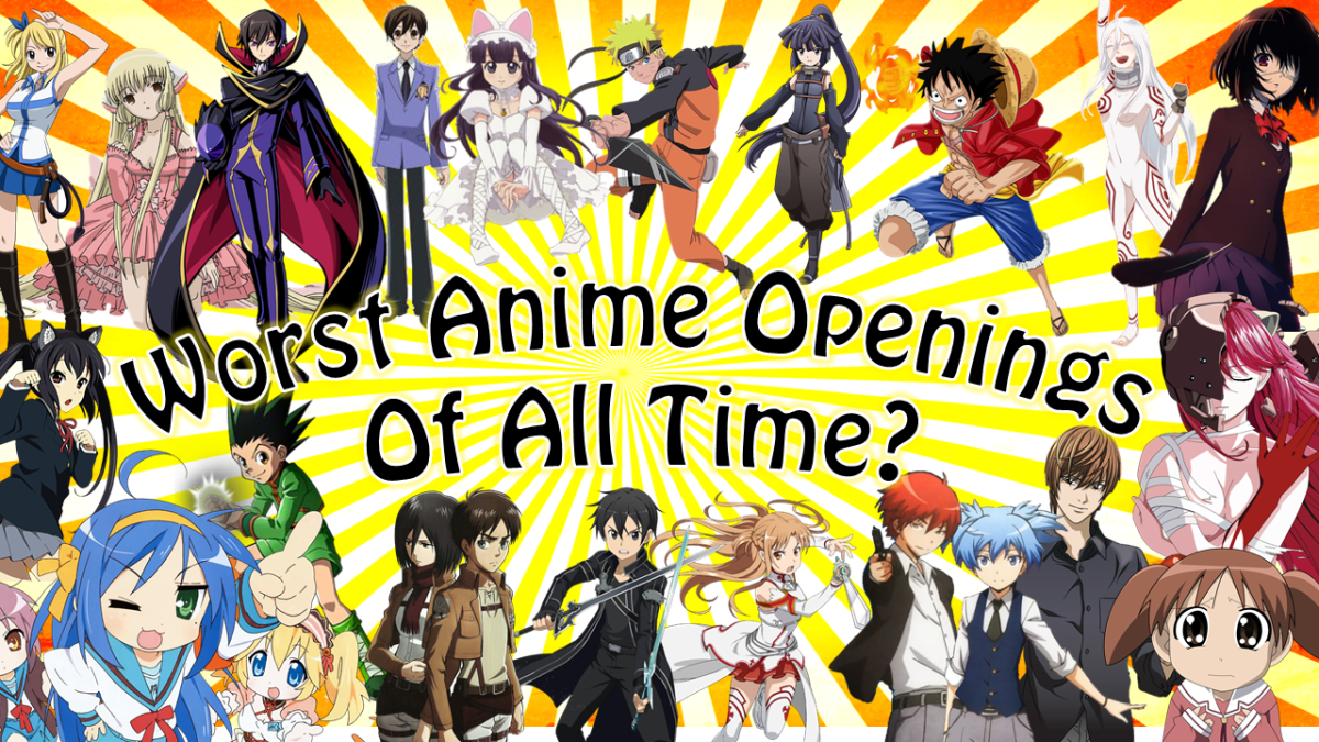 """Featured image for 100 Worst Anime Openings! – K and Friends Rate """"Bad"""" Anime OPs"""