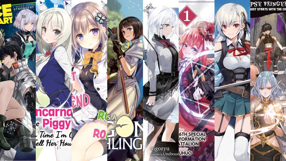 Featured image for Light Novel Debuts for June 2021