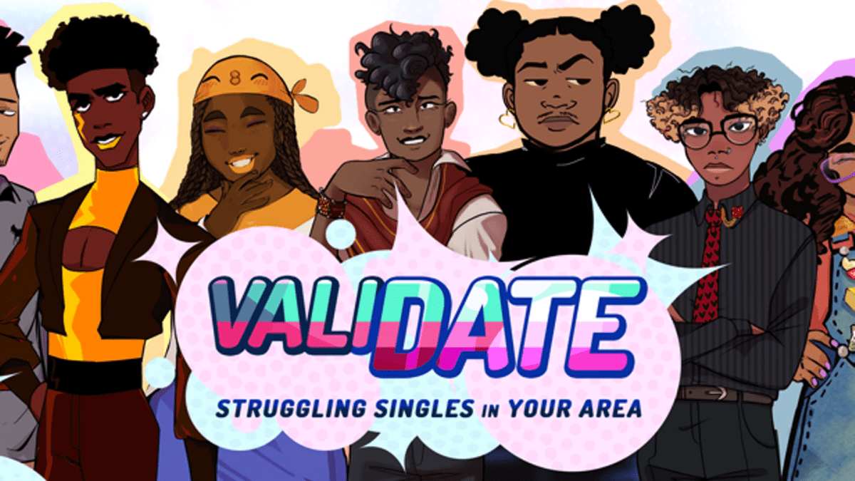 Featured image for Melanin Friendly Games – ValiDate: Struggling Singles in Your Area