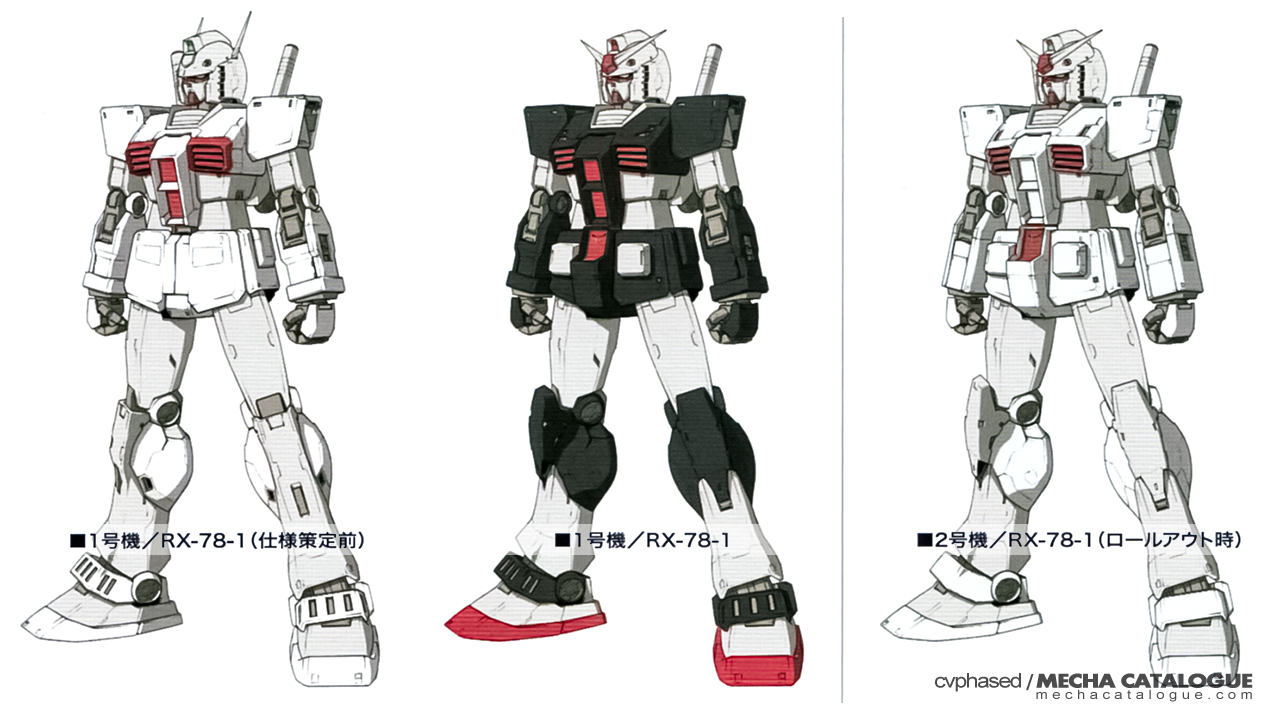 Featured image for Plastic Crack: HG RX-78-01/02 Gundam Rollout Variants