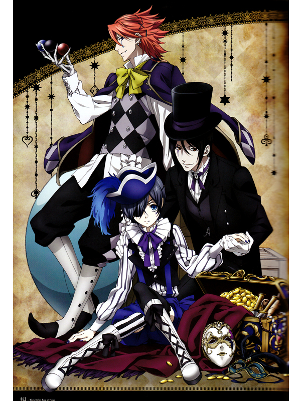 Featured image for Black Butler: Book of Circus Series Review