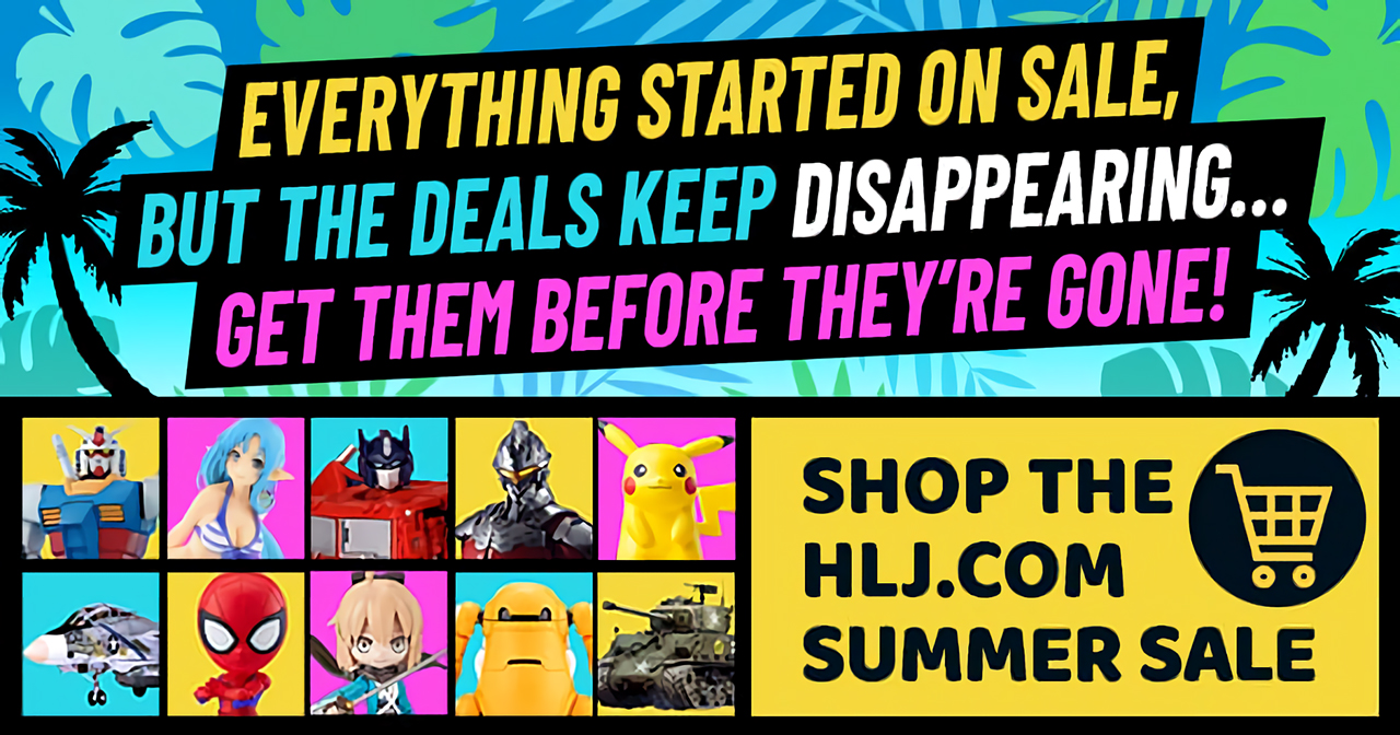 Featured image for @hobbylink Affiliate News: Summer Sale 2021!