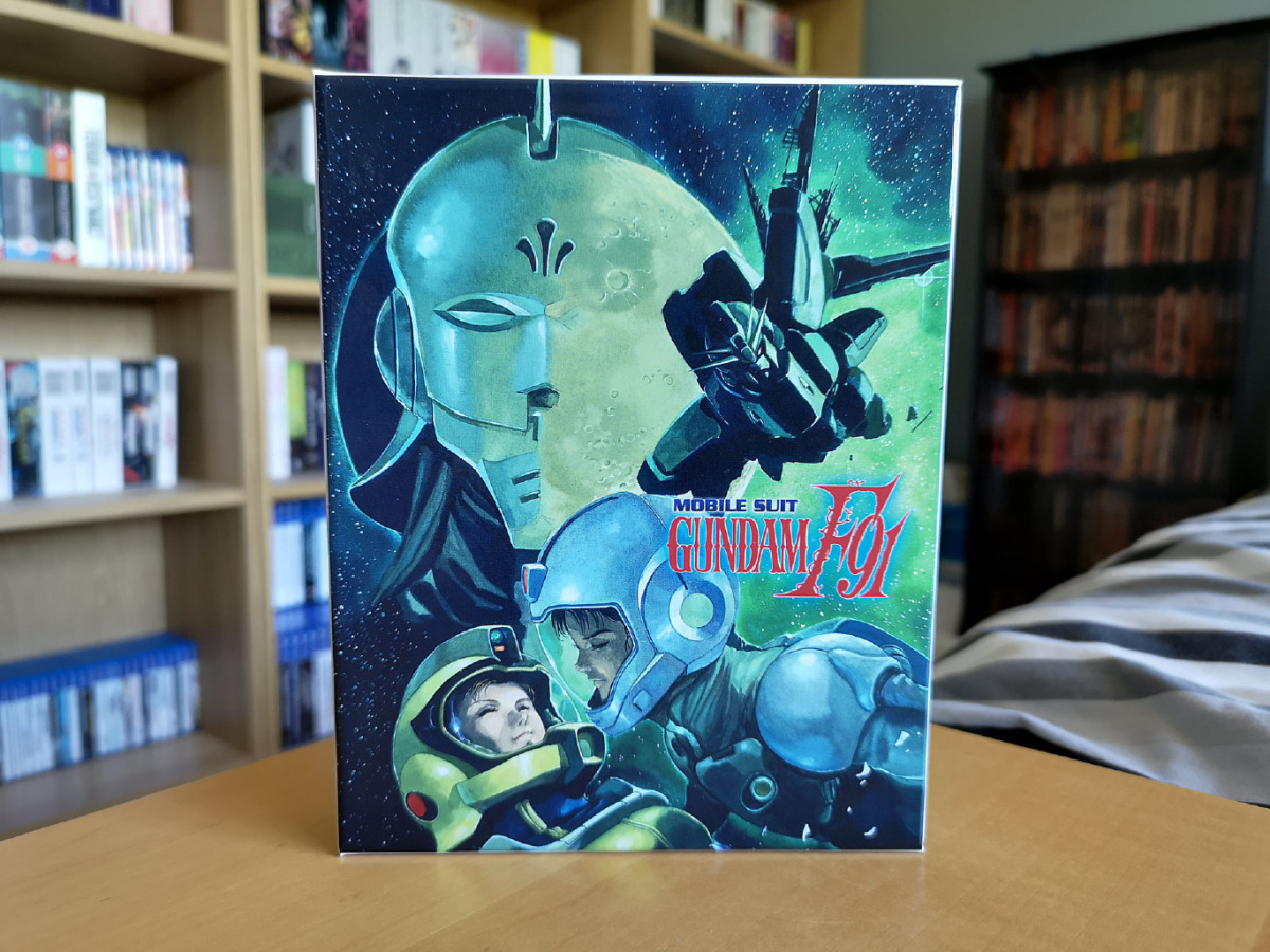 Featured image for Mobile Suit Gundam F91 (Collector's Edition Blu-ray) Unboxing