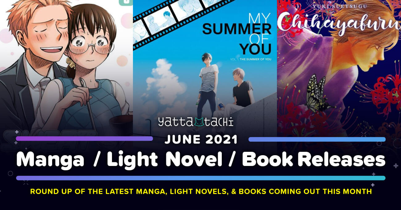 Featured image for June 2021 Manga / Light Novel / Book Releases