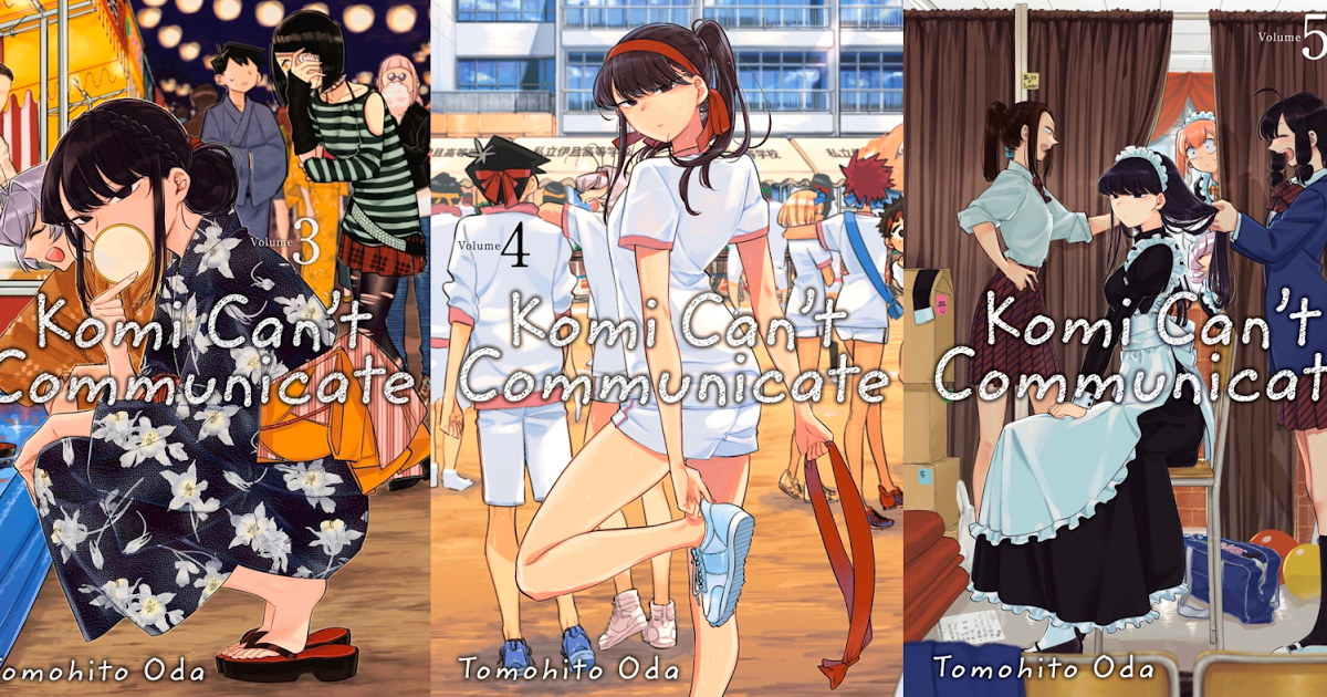 Featured image for Komi Can't Communicate Volumes 3-5 Review