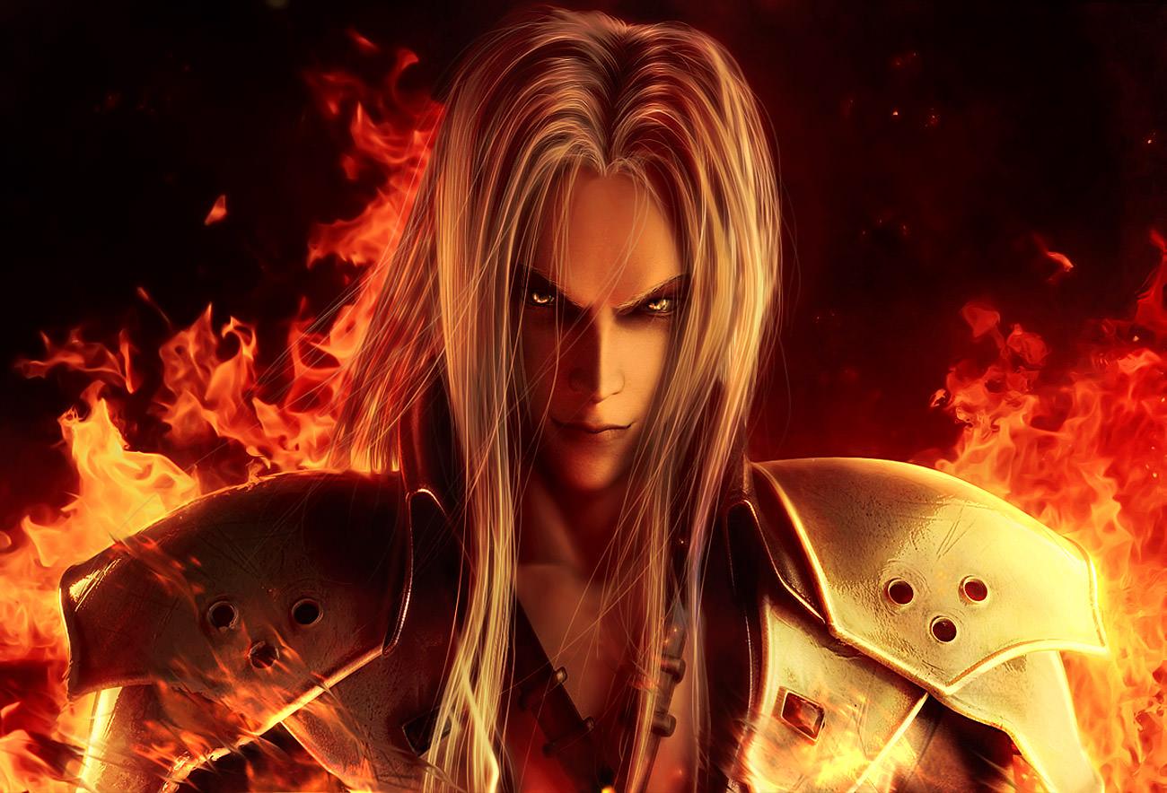 Featured image for Videogame Villain Spotlight: Sephiroth